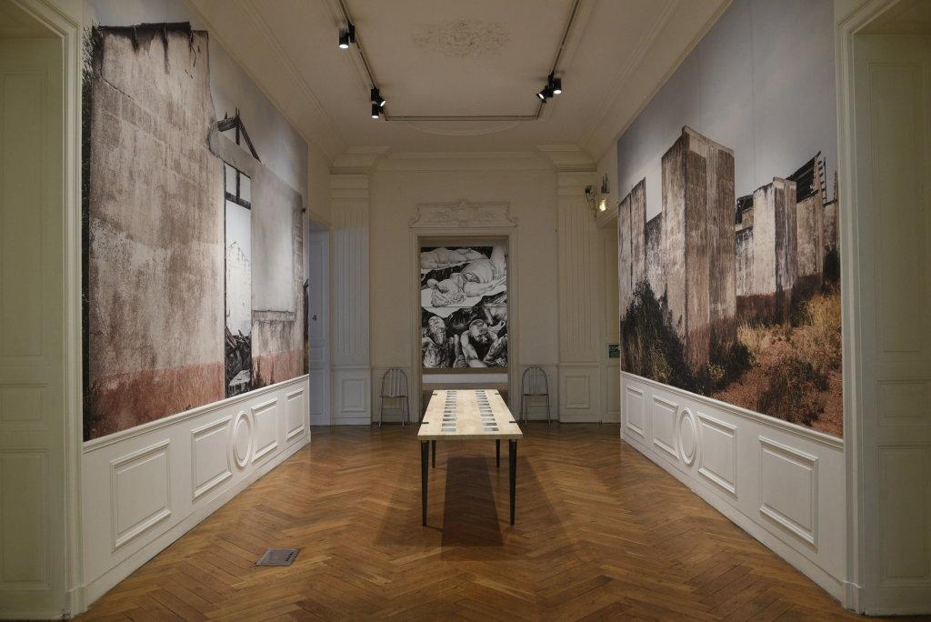 Vue de l'exposition 30 ans et après... - Hôtel des Arts de Toulon (26)