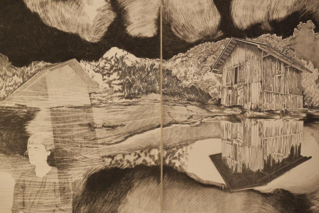 Vue de l'exposition 30 ans et après... - Hôtel des Arts de Toulon (38)