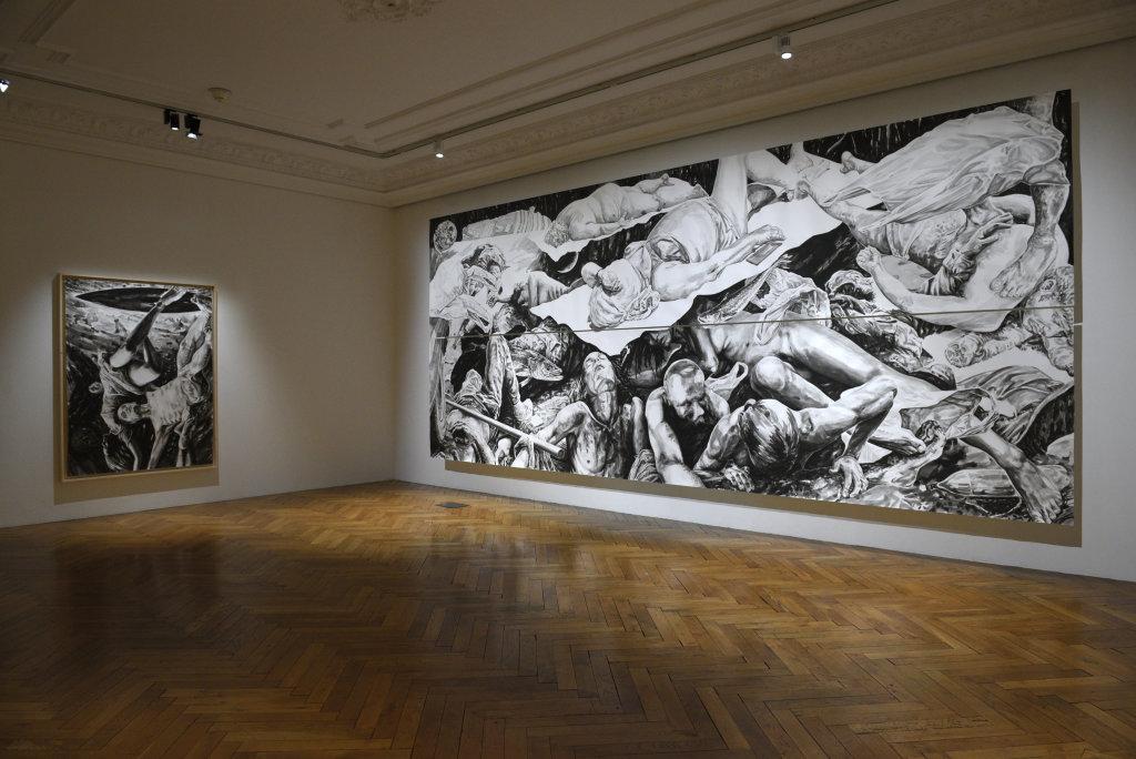 Vue de l'exposition 30 ans et après... - Hôtel des Arts de Toulon (39)