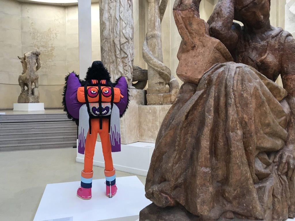 Vue de l'exposition Back Side, Dos à la Mode au Musée Bourdelle à Paris (8)