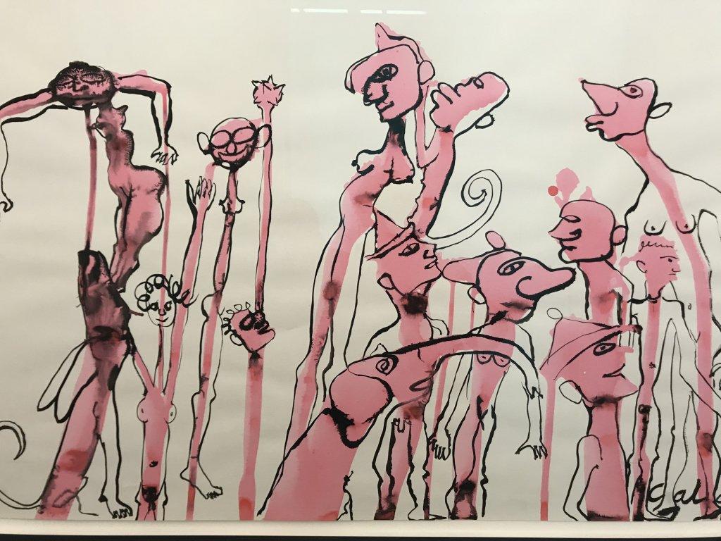 Vue de l'exposition Calder-Picasso, Musée Picasso, Paris (104)