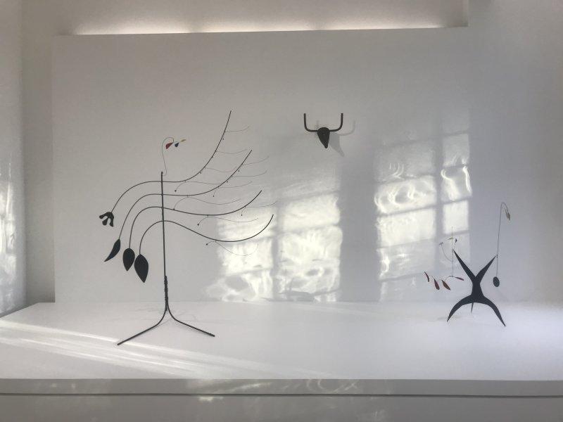 Vue de l'exposition Calder-Picasso, Musée Picasso, Paris (107)