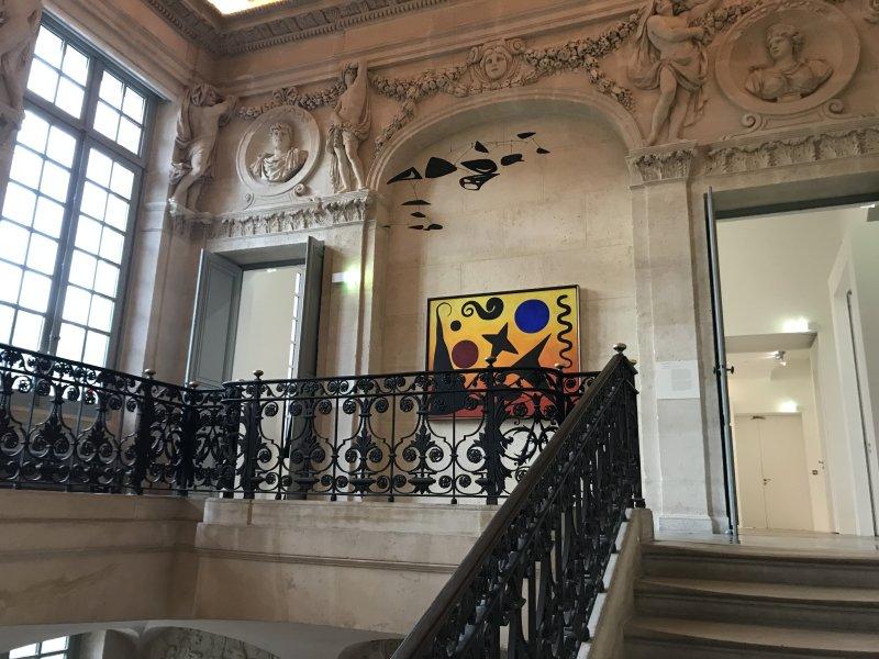 Vue de l'exposition Calder-Picasso, Musée Picasso, Paris (12)