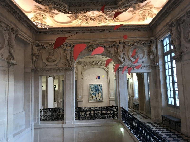 Vue de l'exposition Calder-Picasso, Musée Picasso, Paris (13)