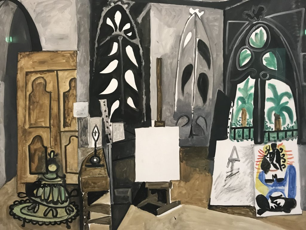 Vue de l'exposition Calder-Picasso, Musée Picasso, Paris (14)