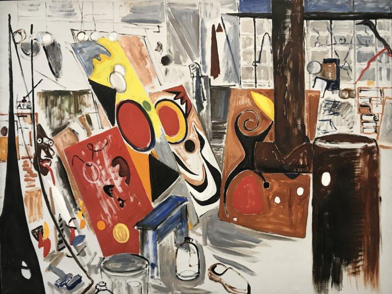 Vue de l'exposition Calder-Picasso, Musée Picasso, Paris (15)