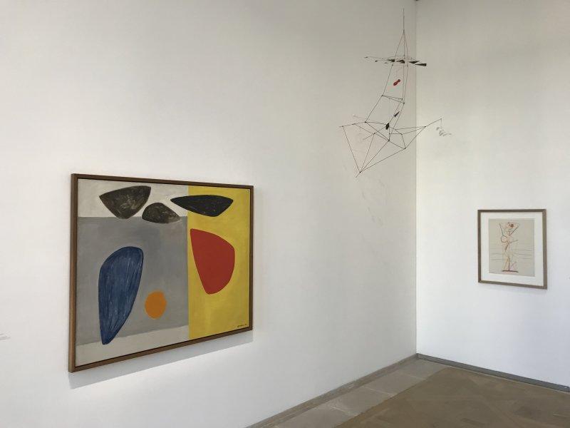 Vue de l'exposition Calder-Picasso, Musée Picasso, Paris (17)