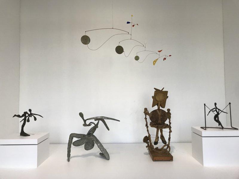 Vue de l'exposition Calder-Picasso, Musée Picasso, Paris (19)