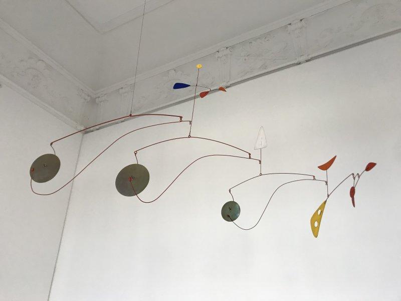 Vue de l'exposition Calder-Picasso, Musée Picasso, Paris (20)