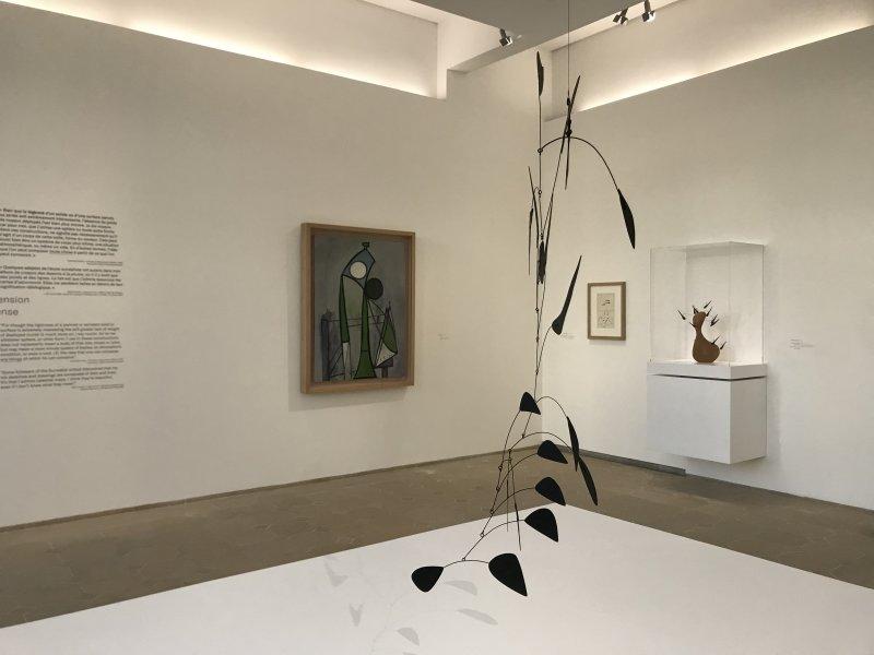Vue de l'exposition Calder-Picasso, Musée Picasso, Paris (3)