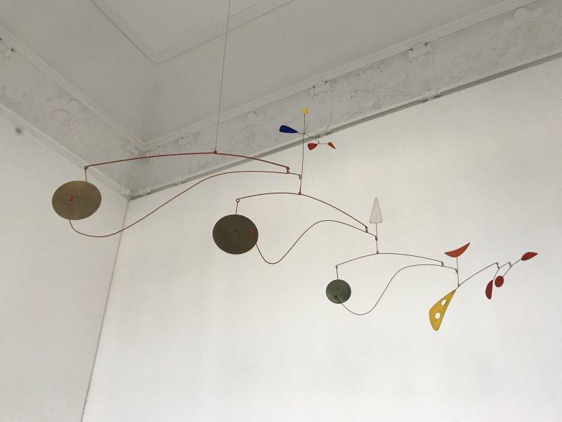 Vue de l'exposition Calder-Picasso, Musée Picasso, Paris (30)