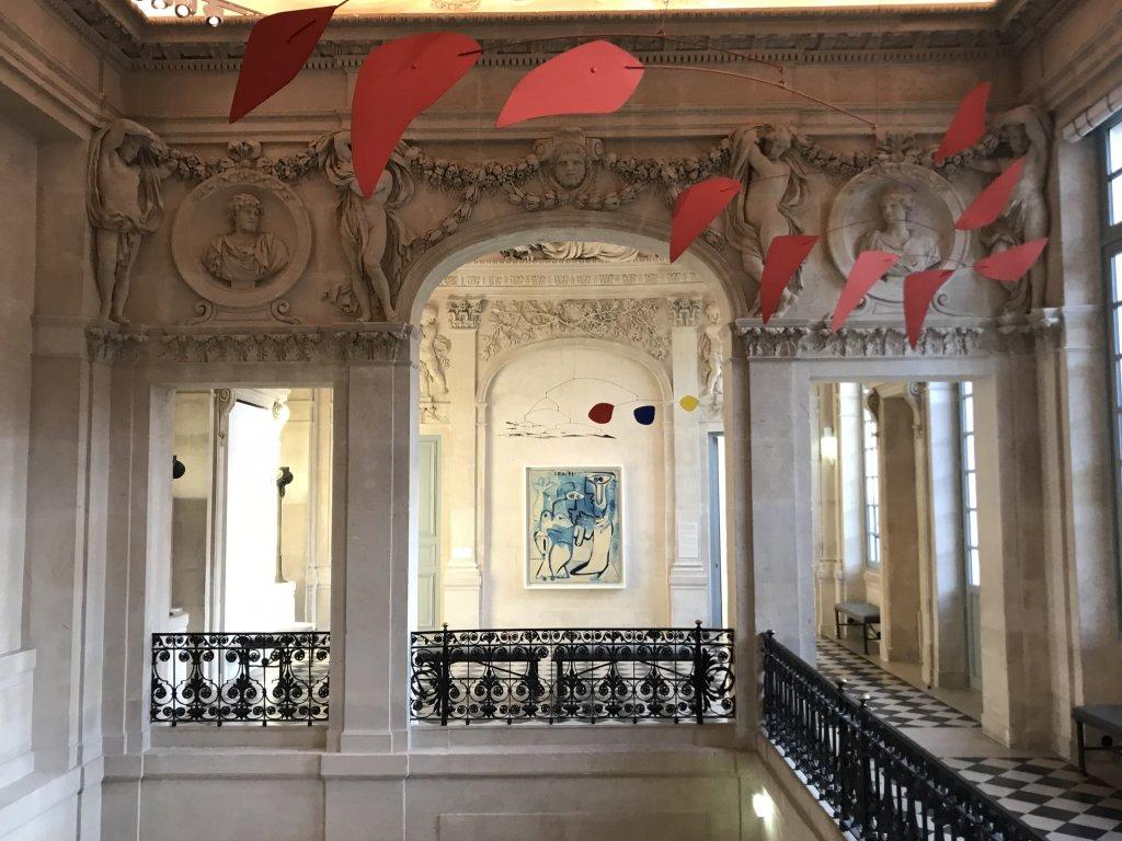 Vue de l'exposition Calder-Picasso, Musée Picasso, Paris (35)