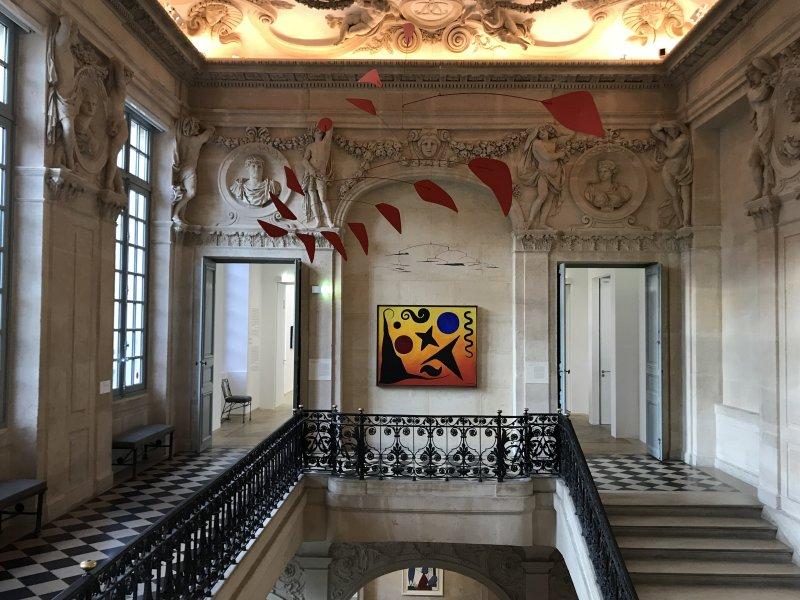 Vue de l'exposition Calder-Picasso, Musée Picasso, Paris (36)