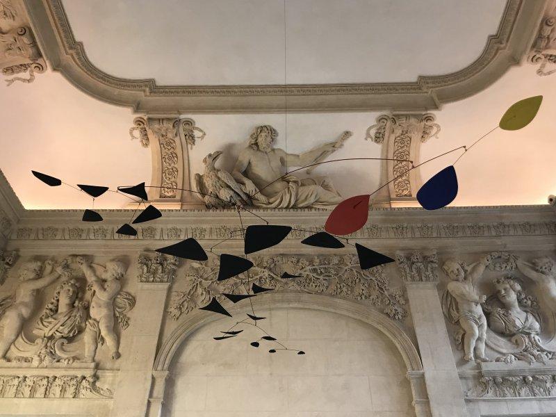 Vue de l'exposition Calder-Picasso, Musée Picasso, Paris (37)
