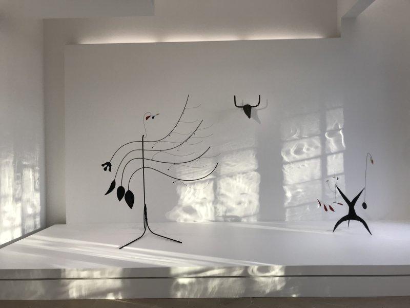 Vue de l'exposition Calder-Picasso, Musée Picasso, Paris (4)
