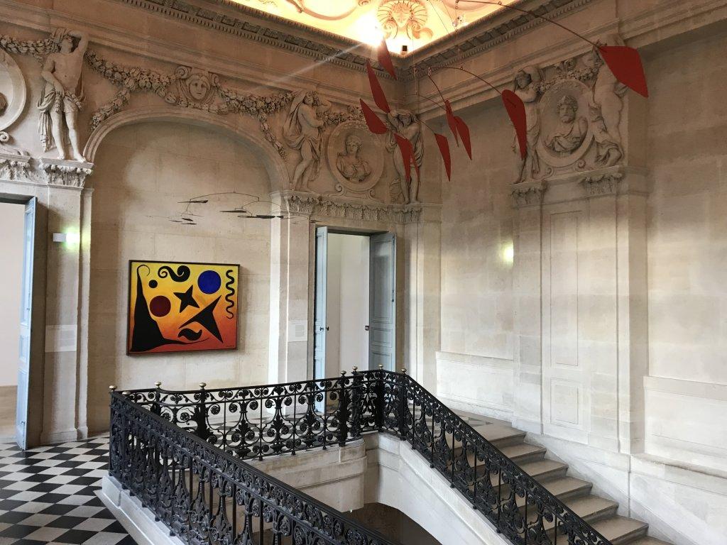 Vue de l'exposition Calder-Picasso, Musée Picasso, Paris (42)
