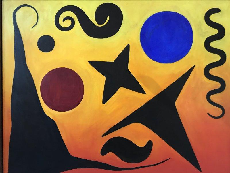 Vue de l'exposition Calder-Picasso, Musée Picasso, Paris (43)