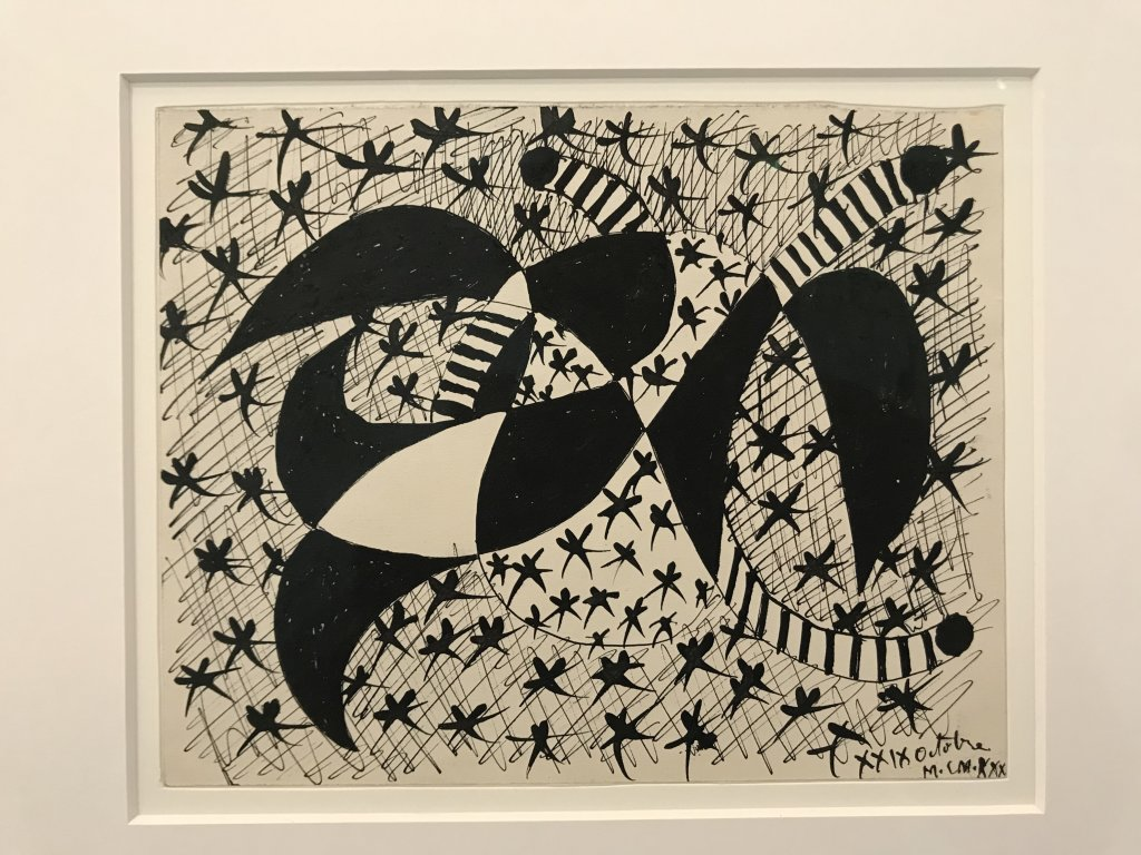 Vue de l'exposition Calder-Picasso, Musée Picasso, Paris (48)
