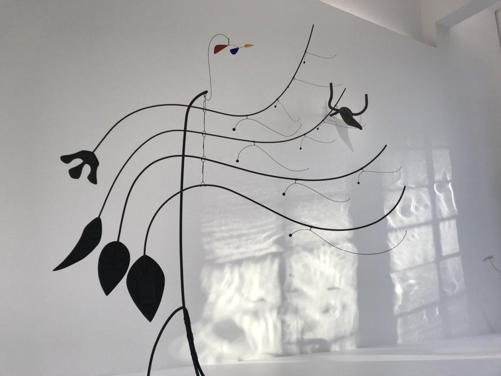 Vue de l'exposition Calder-Picasso, Musée Picasso, Paris (5)