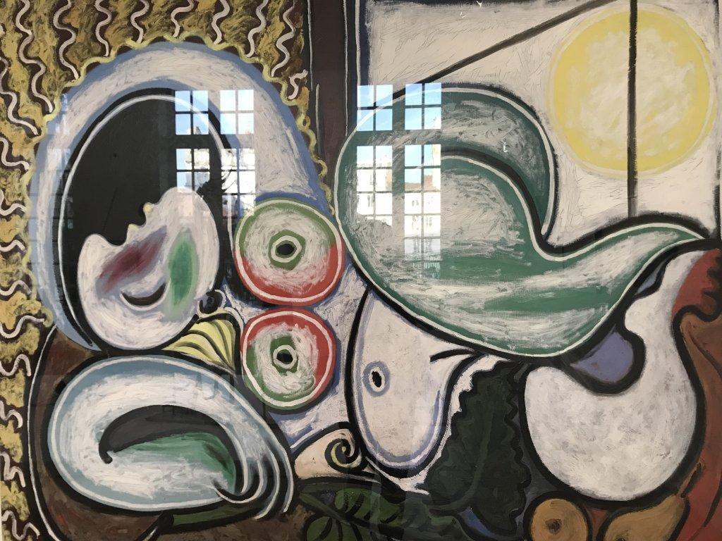 Vue de l'exposition Calder-Picasso, Musée Picasso, Paris (51)