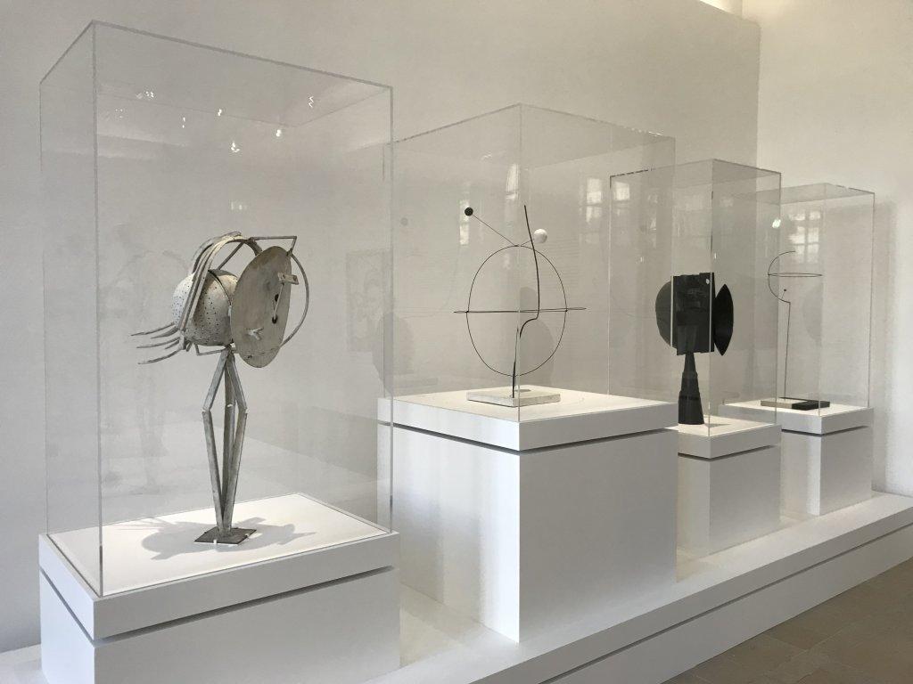 Vue de l'exposition Calder-Picasso, Musée Picasso, Paris (54)