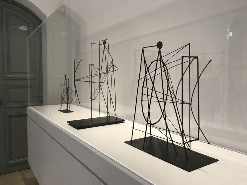 Vue de l'exposition Calder-Picasso, Musée Picasso, Paris (56)