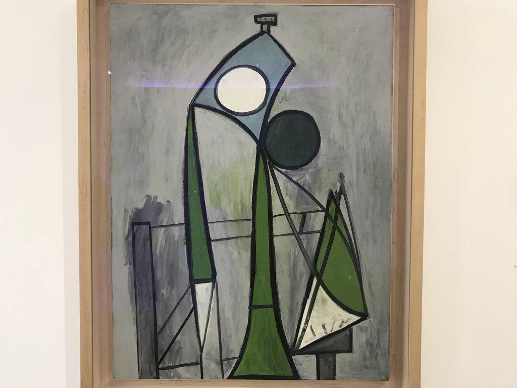 Vue de l'exposition Calder-Picasso, Musée Picasso, Paris (6)
