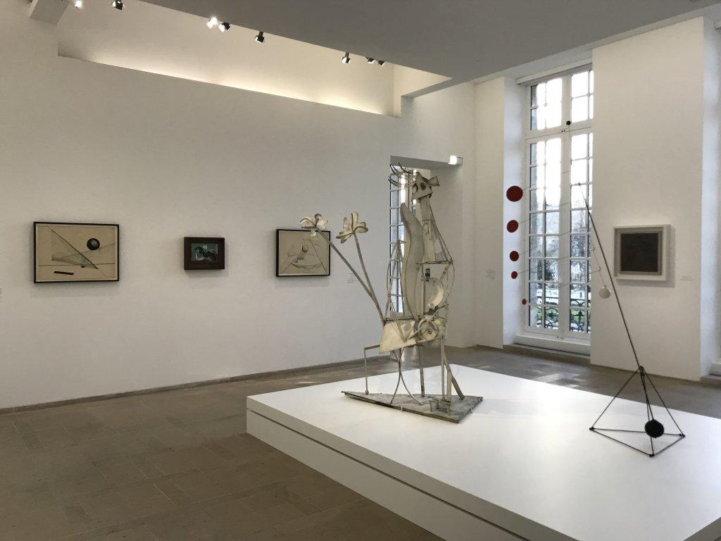 Vue de l'exposition Calder-Picasso, Musée Picasso, Paris (60)
