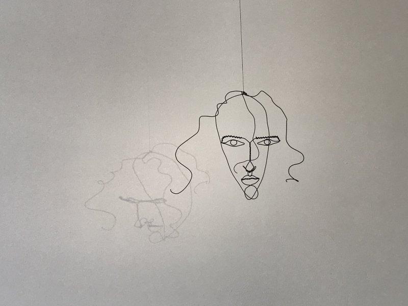 Vue de l'exposition Calder-Picasso, Musée Picasso, Paris (61)