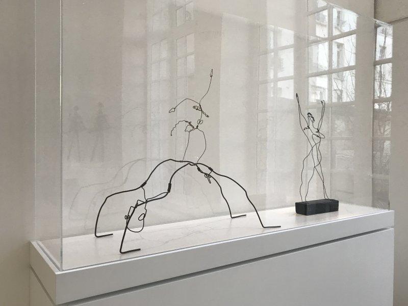 Vue de l'exposition Calder-Picasso, Musée Picasso, Paris (62)