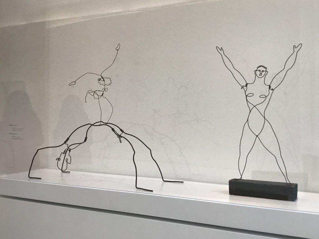 Vue de l'exposition Calder-Picasso, Musée Picasso, Paris (63)