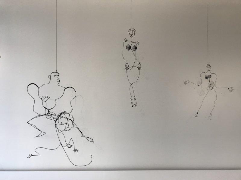 Vue de l'exposition Calder-Picasso, Musée Picasso, Paris (65)