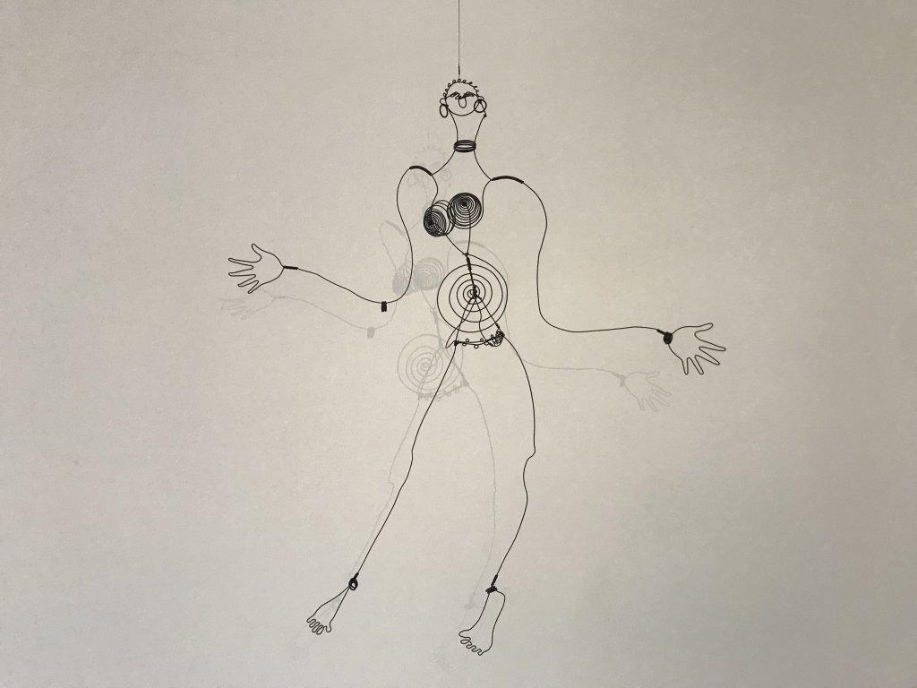 Vue de l'exposition Calder-Picasso, Musée Picasso, Paris (66)