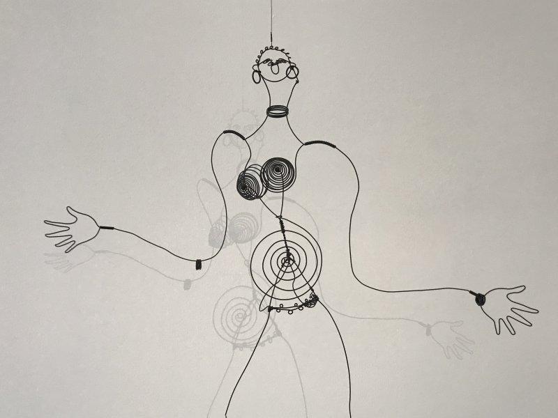 Vue de l'exposition Calder-Picasso, Musée Picasso, Paris (67)