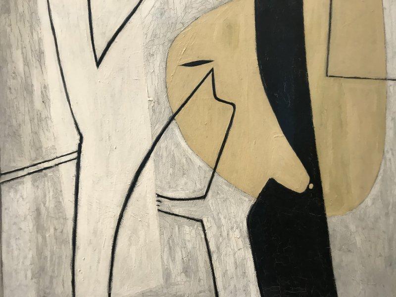 Vue de l'exposition Calder-Picasso, Musée Picasso, Paris (69)