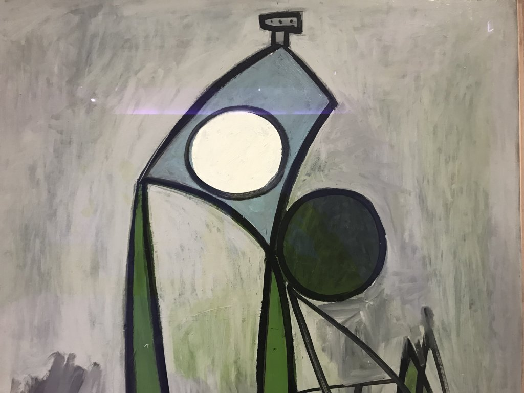 Vue de l'exposition Calder-Picasso, Musée Picasso, Paris (7)