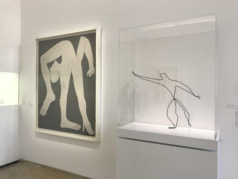 Vue de l'exposition Calder-Picasso, Musée Picasso, Paris (71)