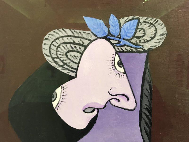 Vue de l'exposition Calder-Picasso, Musée Picasso, Paris (73)