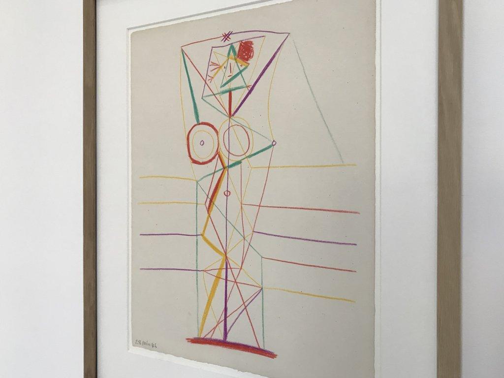 Vue de l'exposition Calder-Picasso, Musée Picasso, Paris (75)