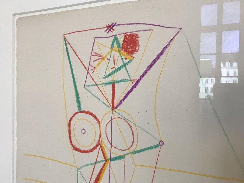 Vue de l'exposition Calder-Picasso, Musée Picasso, Paris (76)
