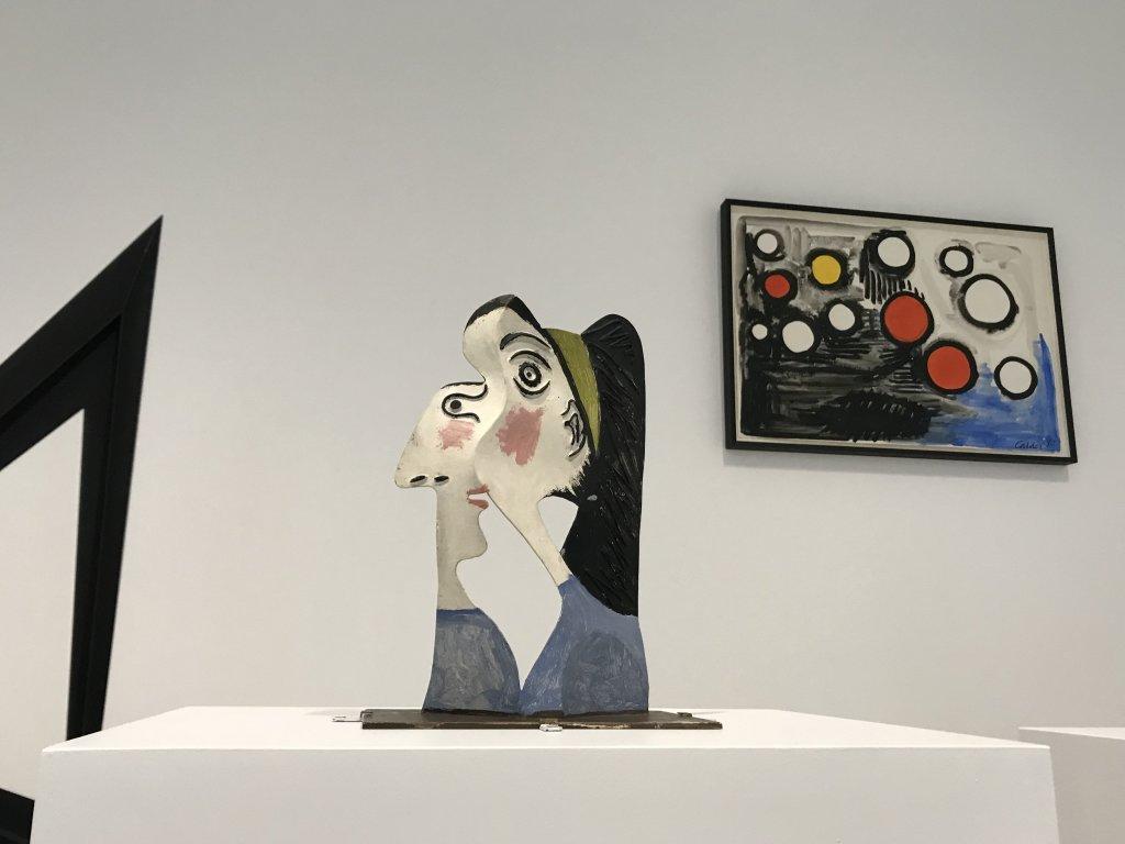Vue de l'exposition Calder-Picasso, Musée Picasso, Paris (79)