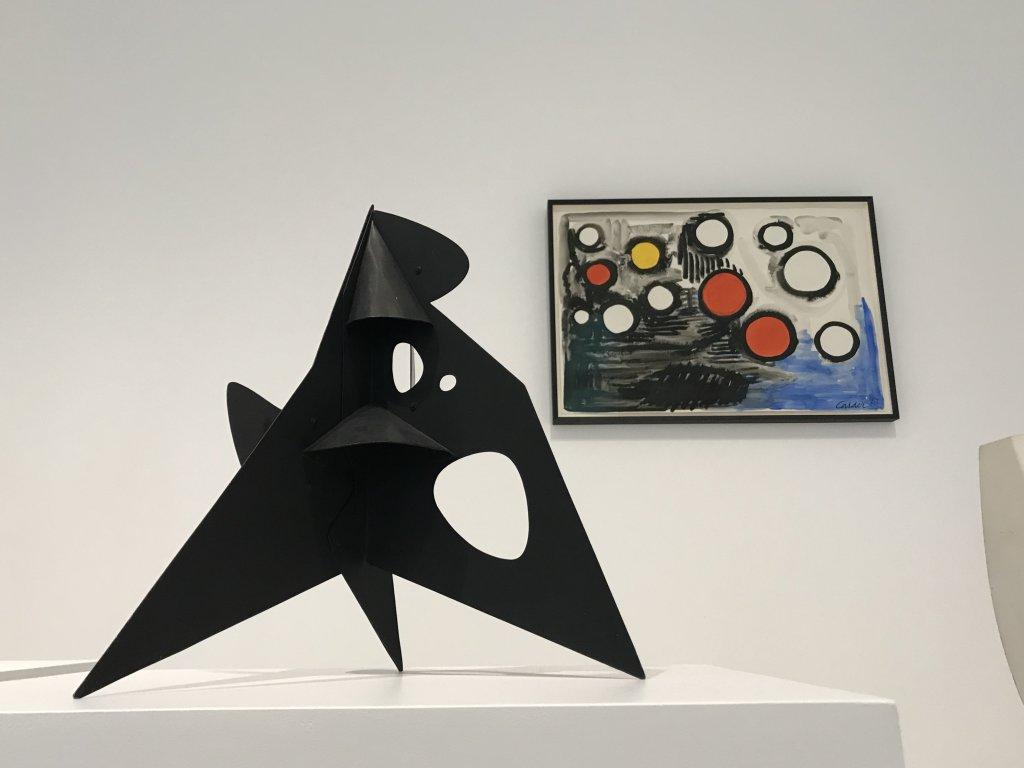 Vue de l'exposition Calder-Picasso, Musée Picasso, Paris (80)