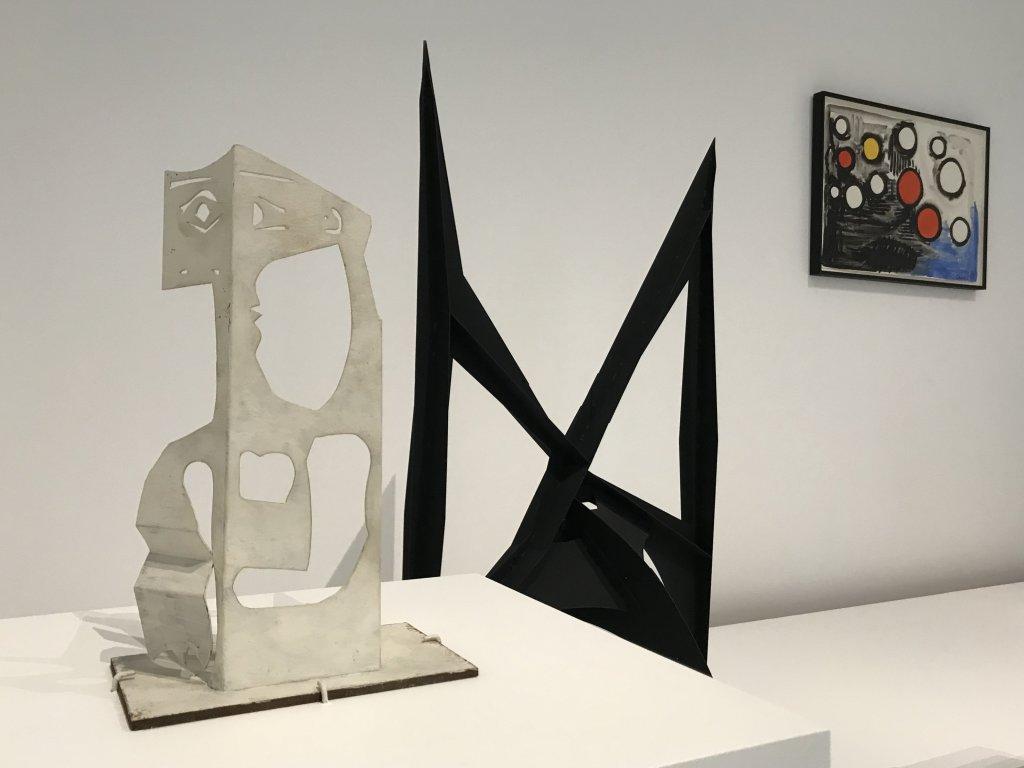Vue de l'exposition Calder-Picasso, Musée Picasso, Paris (82)