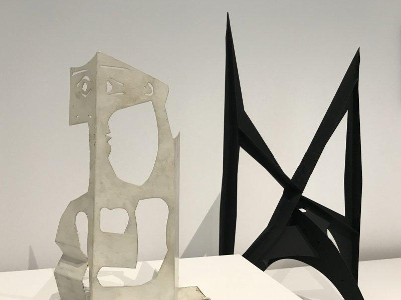 Vue de l'exposition Calder-Picasso, Musée Picasso, Paris (83)