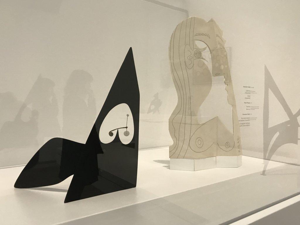 Vue de l'exposition Calder-Picasso, Musée Picasso, Paris (85)