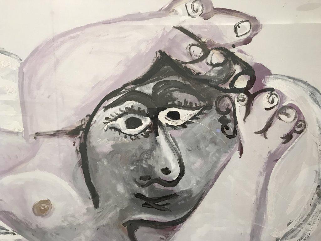 Vue de l'exposition Calder-Picasso, Musée Picasso, Paris (90)
