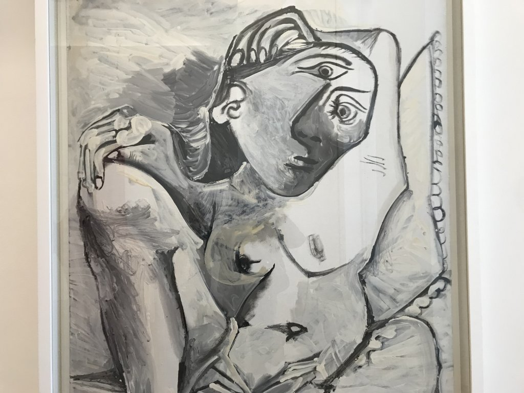 Vue de l'exposition Calder-Picasso, Musée Picasso, Paris (97)