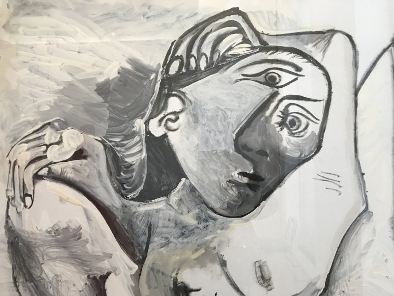 Vue de l'exposition Calder-Picasso, Musée Picasso, Paris (98)