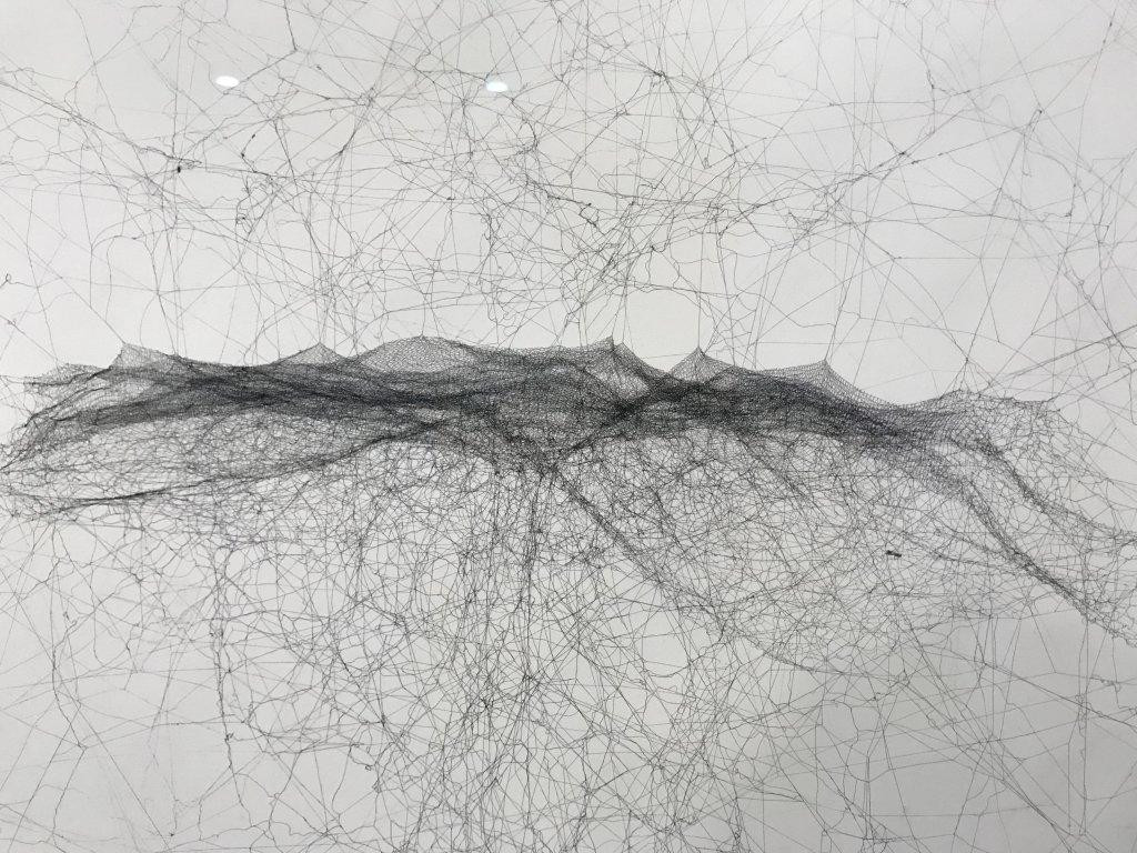 Vue de l'exposition carte blanche à Tomas Saraceno - Palais de Tokyo (31)