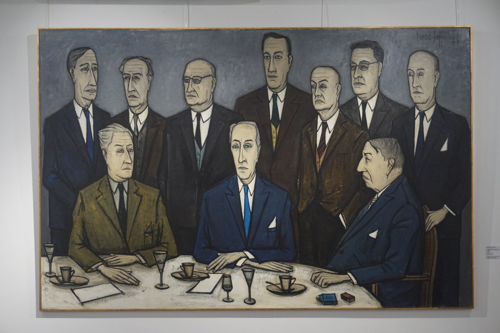 Vue de l'exposition Couty-Buffet au Musée Jean Couty (10)